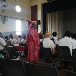 Motivational talk by Mrs Ngidi