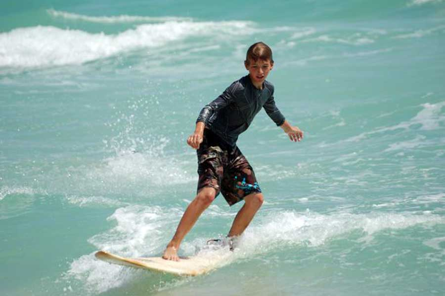 Open Air School 187 Kzn S First Blind And Disabled Surf